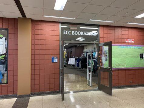 The entrance to the ECC bookstore.