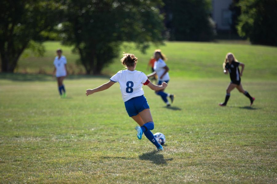 Womens soccer wins 1-0 against Prairie State College