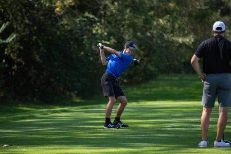 The Spartans mens golf team competed at the Judson University Invitational at Randall Oaks Golf Club on Sept. 27.